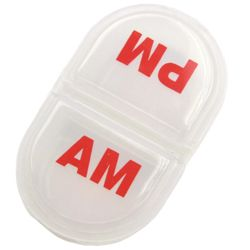 "72 Units of Pocket Pill Pack 3"" - A.M./P.M. - Pill Boxes and Accesories"