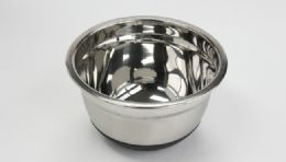 12 Units of Stainless Steel Mixing Bowl, Nonskid 1.5 qt - Baking Supplies