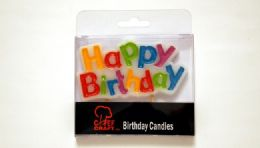 72 Units of Happy Birthday Candle 1 Piece - Birthday Candles