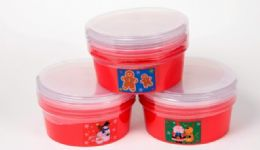 24 Units of Christmas Container - 4 pack, 7-1/4""