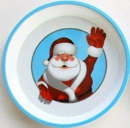 "24 Units of Santa Tray, 11.75"" Round"