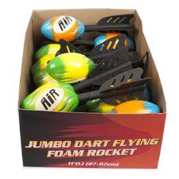 48 Units of Jumbo Dart Flying Foam Rocket - Balls