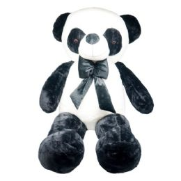 4 Units of Fifty Two Inch Panda With Bow - Valentine Decorations
