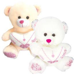 6 Units of Twenty Inch Bear With Heart Spanish - Valentine Decorations