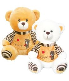 "6 Units of 20"" Bear With/Clothing - Valentines"