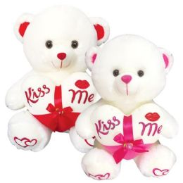 "12 Units of 16"" Bear With /Heart - Valentines"