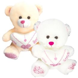 24 Units of Nine Bear With Heart - Valentine Decorations