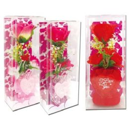 96 Units of Valentines Day Rose Heart - Valentine Decorations