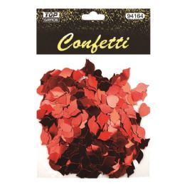 144 Units of Craft Confetti Hearts Kiss Valentines - Valentine Gift Bag's