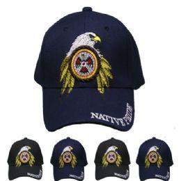24 Units of Native Pride Baseball Cap - Baseball Caps & Snap Backs