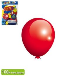 24 Units of Balloon Red Twelve Inch - Valentine Decorations