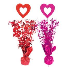 96 Units of Valentines Day Balloon Weight - Valentine Decorations
