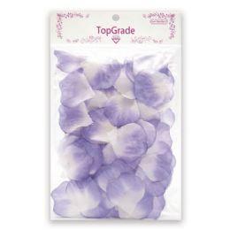 144 Units of Satin Rose Petal Lavender - Valentine Cut Out's Decoration