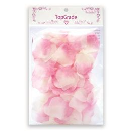 144 Units of Satin Rose Petal Pink - Valentine Cut Out's Decoration