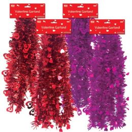96 Units of Valentines Day Garland 8 - Valentine Decorations