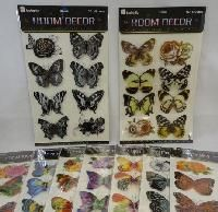 48 Units of Wall Decor Stickers [butterfly Assortment] - Home Decor