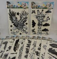 48 Units of Wall Decor Stickers [black & White Assortment] - Home Decor