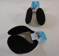 144 Units of EarmuffS-Black Only - Ear Warmers