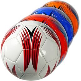 20 Units of OFFICIAL SIZE PATTERNED SOCCER BALLS - Balls