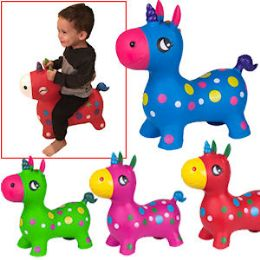 8 Units of Bouncy Inflatable Unicorns. - Inflatables