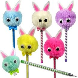 60 Units of FLUFFY BUNNY PENS - Pens