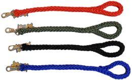 48 Units of Dog Leash(63cm Braided) - Pet Toys