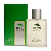 24 Units of Mens Green Basics Perfume 100 Ml / 3.4 Oz. Sprays - Perfumes and Cologne