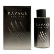 24 Units of Mens Ravage Cologne 100 Ml / 3.4 Oz. Sprays - Perfumes and Cologne