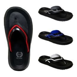 48 Units of Men's Assorted Color Slippers - Men's Slippers