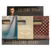 6 Units of 12 piece Counter Top Display 4 each of 3 fragrances For Men Our Version Of Acqua Di Gio, Carolina Herrera, Nautica - Perfumes and Cologne