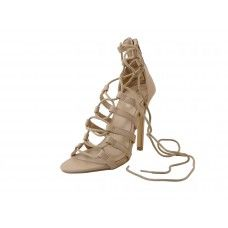 12 Units of Women's Mixx Shuz High Heel Ankle Strip Sandals Nude Color - Women's Heels & Wedges
