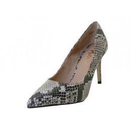 "12 Units of Women's ""mixx Shuz"" 31/4 Heel Pump Bride Shoe ( *snake Print ) - Women's Heels & Wedges"