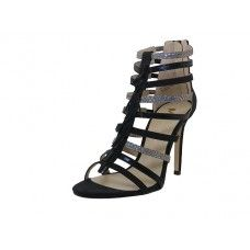 "12 Units of Women's ""Mixx Shuz"" High Heel Ankle Height Sandals ( *Black Color ) - Women's Heels & Wedges"