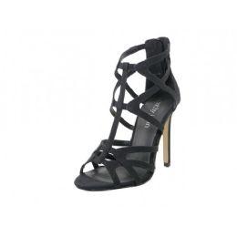 12 Units of Women's High Heel Gladiator Sandal ( *black Color ) - Women's Heels & Wedges