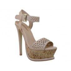 8 Units of Women's Angeles Shoes HI-Heel Sandals Nude Color - Women's Heels & Wedges