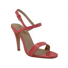 8 Units of Women's Angeles Shoes High Heel Sandal With Ankle Strip Pink Color - Women's Heels & Wedges