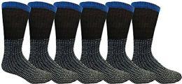 6 Units of Yacht & Smith Men, Cotton Athletic Sports Casual Socks - Mens Crew Socks