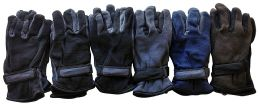 6 Units of Yacht & Smith Men's Fleece Gloves - Fleece Gloves