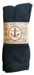 12 Pairs of excell Mens Thermal Crew Socks, Sock Size 10-13