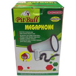 6 Units of Compact Megaphone With Speak And Music Switch - Teacher & Student