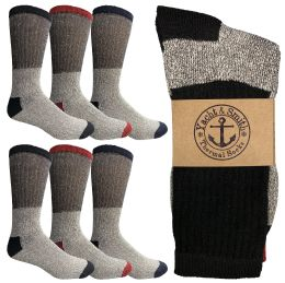 6 Units of Yacht & Smith Women's Warm Thermal Boot Socks - Womens Thermal Socks