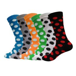 240 Units of Yacht & Smith Womens Thin Cotton Polka Dot Crew Sock - Womens Crew Sock