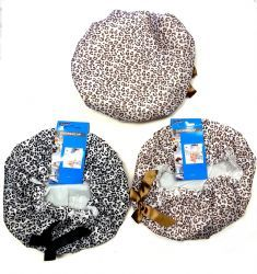 48 Units of Premium Lined Shower Cap - Shower Caps
