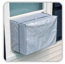 144 Units of Outdoor Window A/C Cover Air Conditioner Protects Window-style Air Conditioners From Dirt and Debris in the Off-Season - Home Accessories