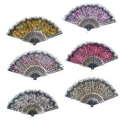 72 Units of Chinese Japanese Fans Assorted - Home Decor