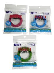 144 Units of Mosquito and Insect Repellent Wrist Band Deet Free - Bug Repellants