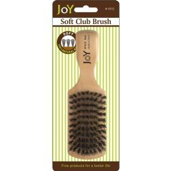 24 Units of Soft Club Brush - Hair Brushes & Combs