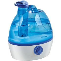 6 Units of Comfort Zone .6-Gallon Ultrasonic Cool Mist Humidifier - Baby Beauty & Care Items