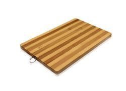 18 Units of Striped Bamboo Cutting Board All Natural 10.2 X 14.2 Inch EcO-Friendly Strong Thick Chopping Board - Cutting Boards
