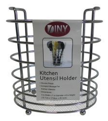 12 Units of Metal Kitchen Utensil Holder - Kitchen Cutlery